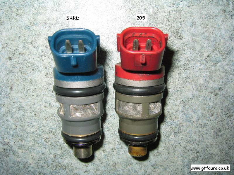 Toyota Celica Gt4 Sard 800cc And St205 Fuel Injector Pictures