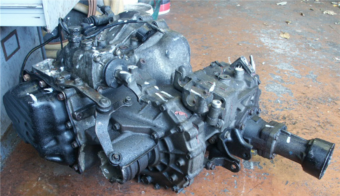 The Toyota Rav4 Toyota Celica GT4 ST185 Gearbox and Transfer Box Pictures