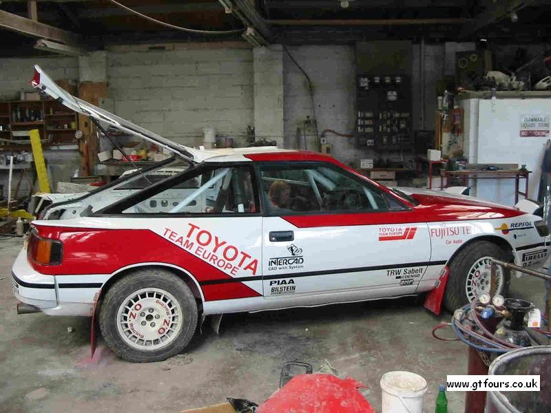 Toyota Celica Gt4 St165 Wrc Pictures