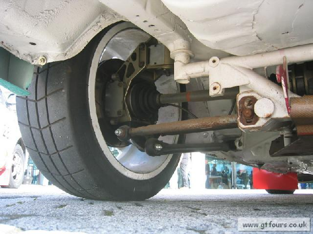 Wrc Corolla Rear Suspension Setup With Images Mr2 Owners